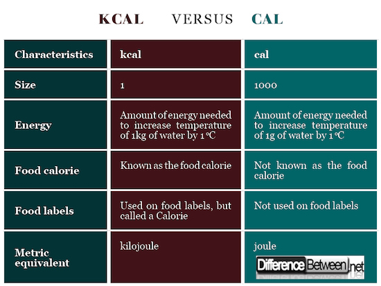 What's the difference between a calorie and a kilojoule ...