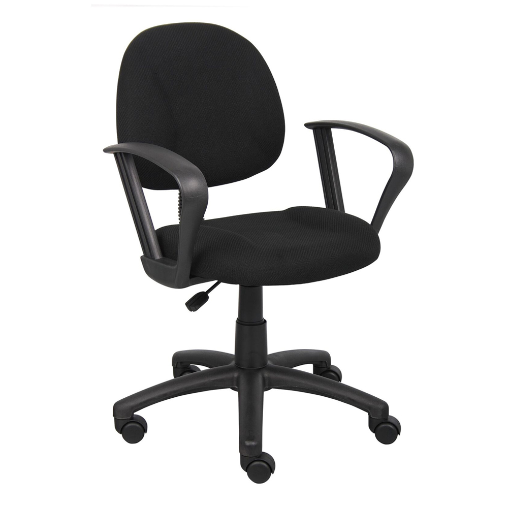 balt posture perfect chair office depot ergonomic chairs supplies computer and task products boss b317 deluxe fabric mid back