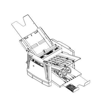 Martin Yale 1217A AutoFolder Paper Folding Machine