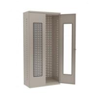 "Akro-Mils 18"" D Bin Storage Cabinet Louvered Panel Quick ..."