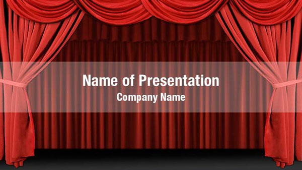 stage powerpoint templates stage