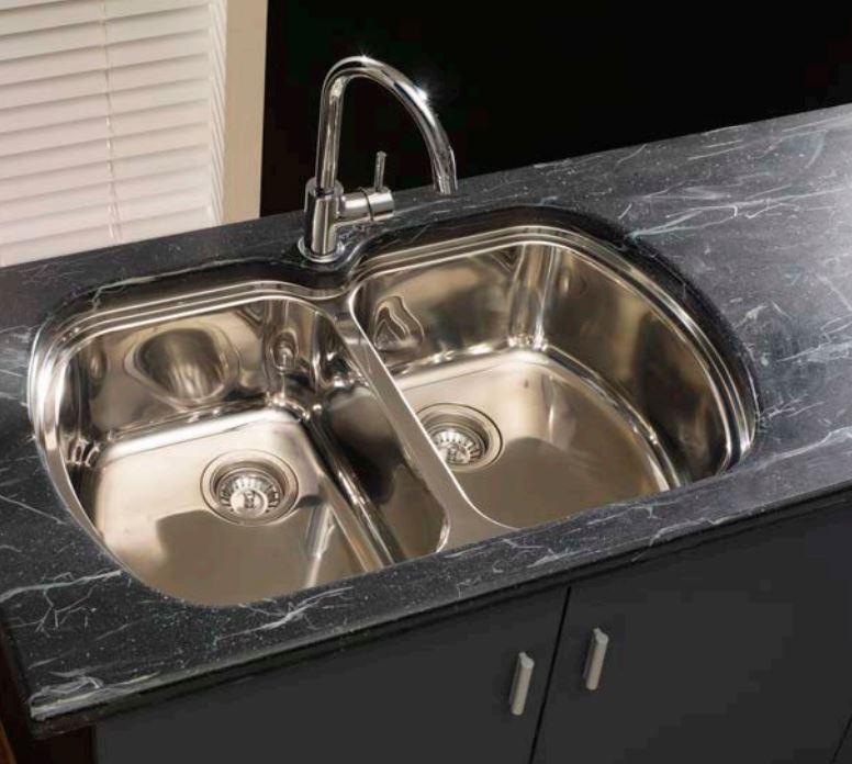 milan double bowl undermount sink kitchen sinks perth