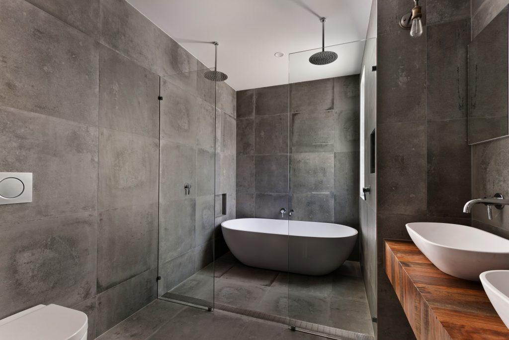 when choosing bathroom tiles