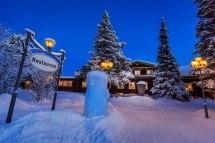 Sweden Ice Hotel Exterior