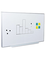 Wall Whiteboards with Wood or Steel Frames