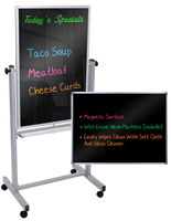 Black Whiteboards for Classrooms