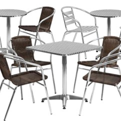 Tables And Chairs Cover Chair Wedding Commercial Table Sets With Modern Furniture Collections Indoor Outdoor Cafe