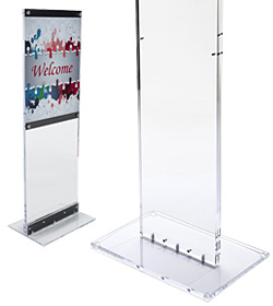 poster display stands commercial