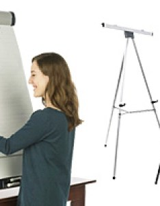 Flip chart easels also mobile  portable stands rh displays go