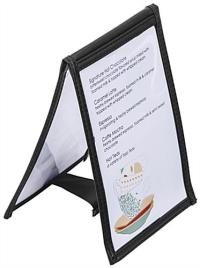 """4"""" x 6"""" Vinyl Table Tent 