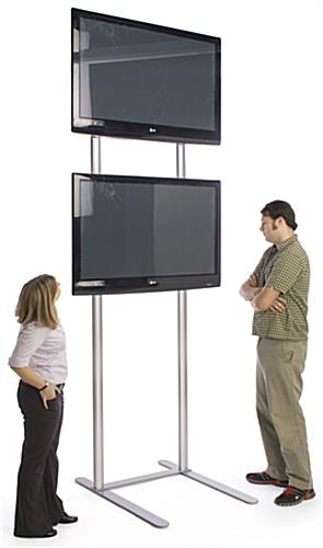 10 Tall TV Stand  Holds 2 Monitors