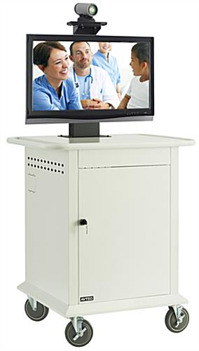 Video Conferencing Cart  6 DualWheel Casters