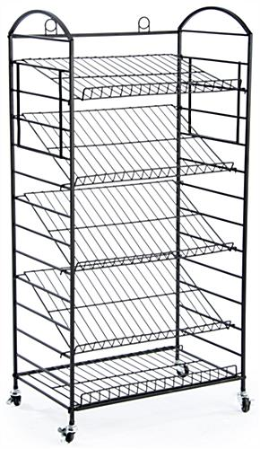kitchen displays for sale building islands (5) tier bakers rack | removable shelves lay flat or angled
