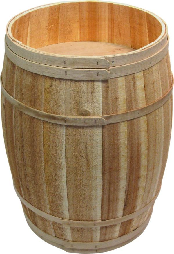 Barrel Display Bins