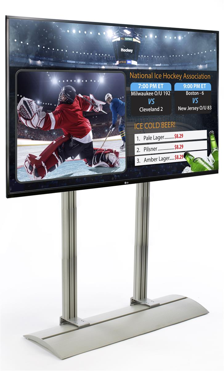 Digital Signage Package  LG SuperSign TV with Free Templates