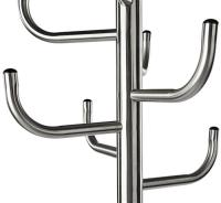 Metal Coat Rack with Umbrella Stand