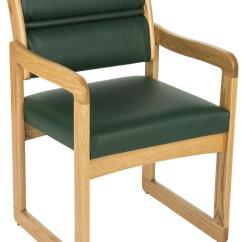 Upholstered Chairs With Wooden Arms Wholesale Kids Green Reception Area Chair | Light Oak