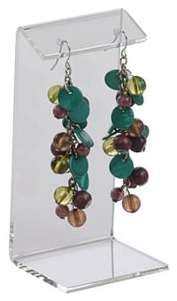 Clear Small Earring Holder | 6 Units of 3 Different Sizes