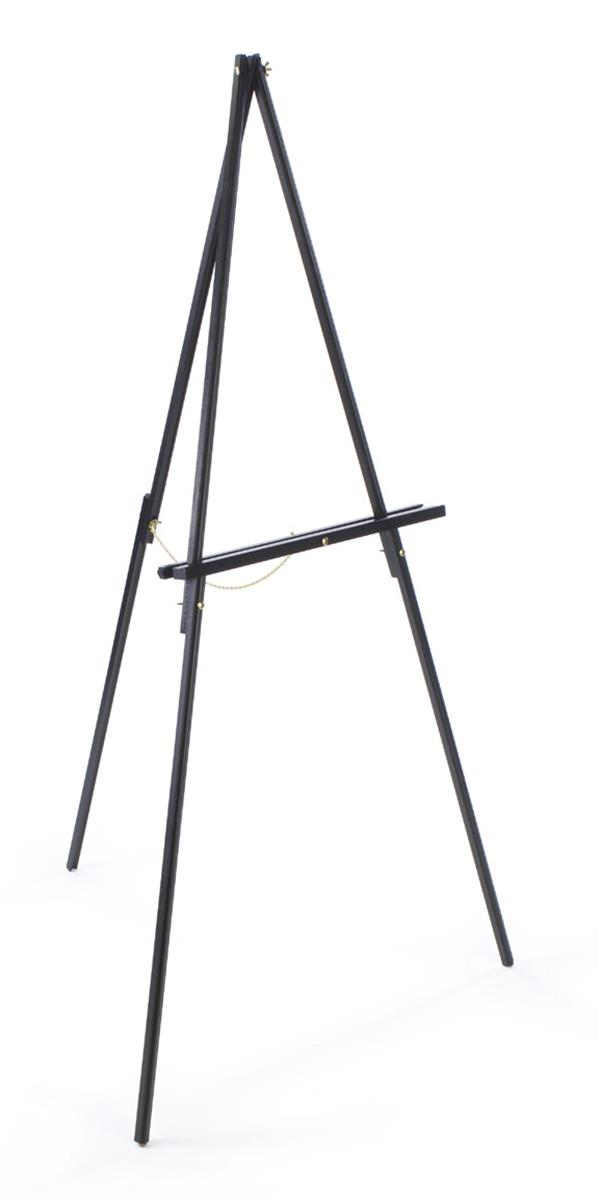 Studio Art Easels With Beech Wood Black Finish  Rubber