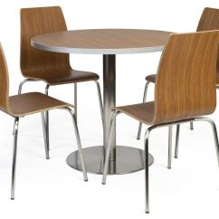 Bistro Style Dining Chairs Toddler Chair Target Lunchroom Table And 5 Piece Set