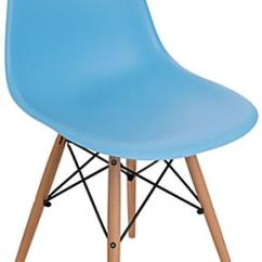 Eames Style Plastic Chair High Backed Dining Chairs Uk Molded 330 Lbs Weight Capacity Contemporary