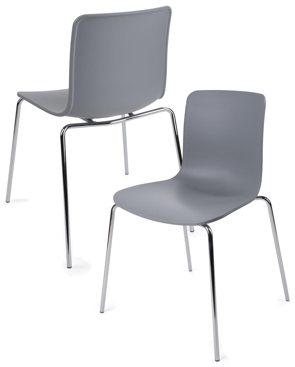 plastic stacking chairs canada folding lawn aluminum set of 2 modern molded | design