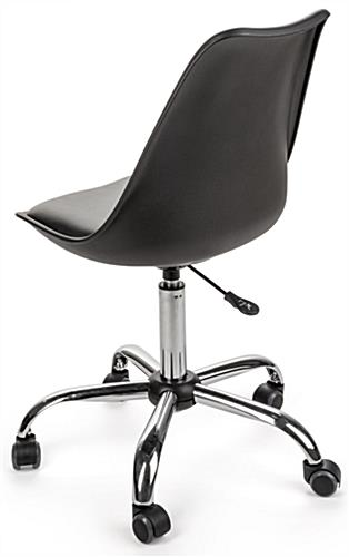 office chair height outdoor double rocking molded wheeled padded for comfort adjustable