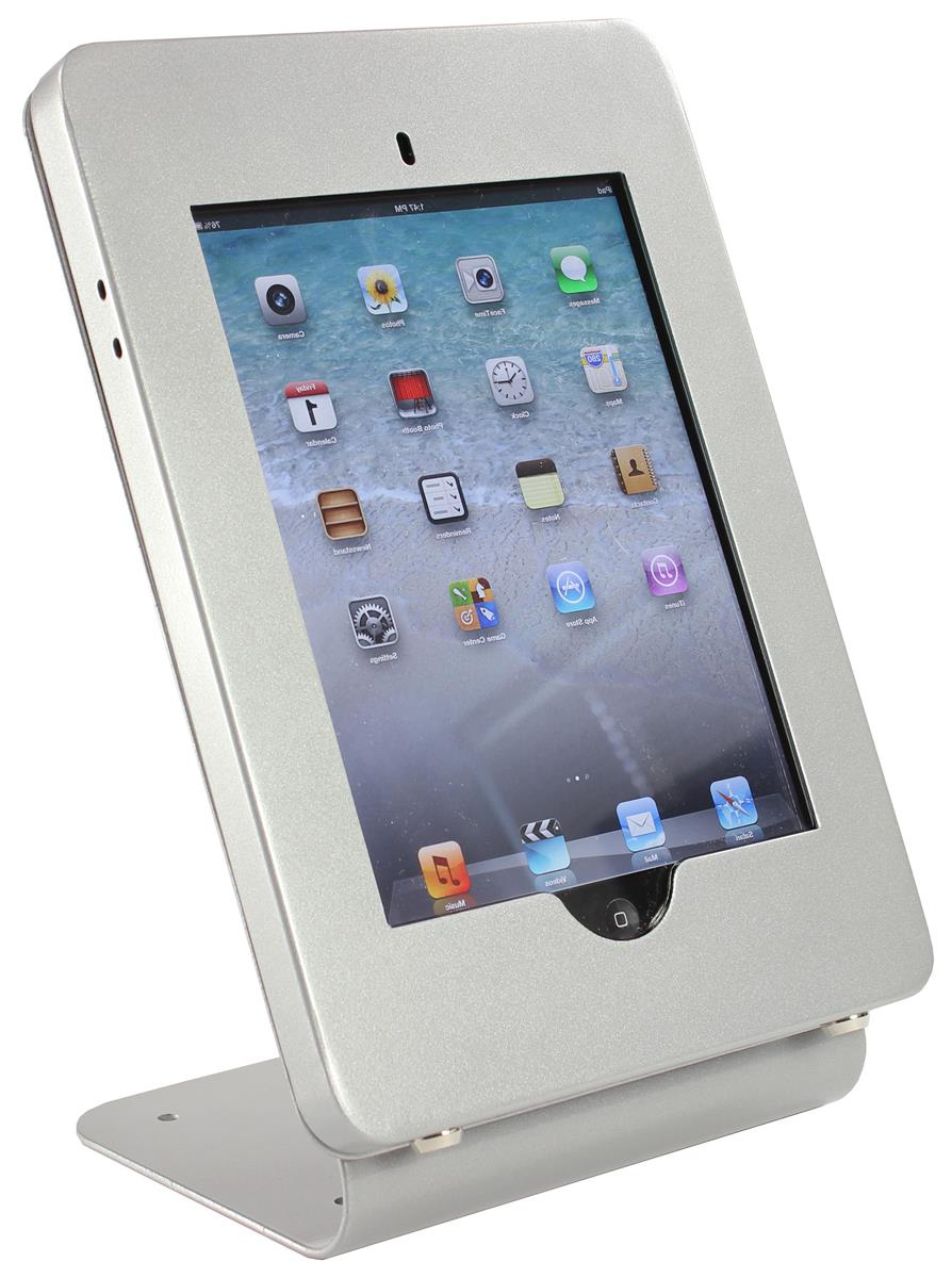 Countertop Options And Prices Ipad Counter Holder | Locking Tablet Enclosure