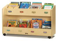Childrens Book Storage Cart | 8 Literature Pockets