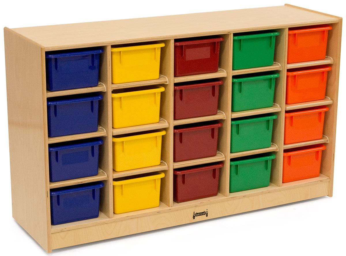 Plastic Cubby Storage Units
