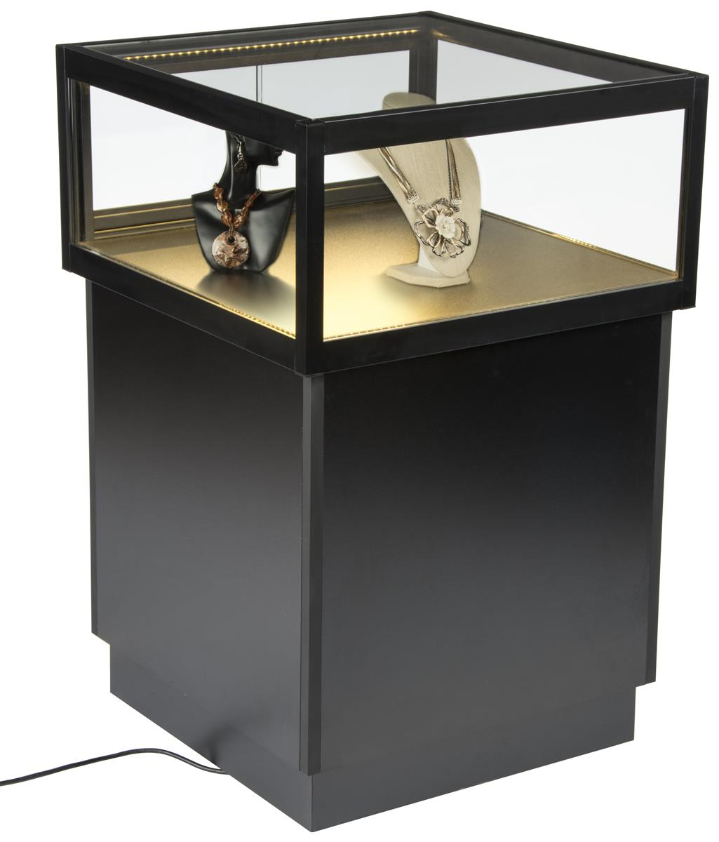 Led Display Case Pedestal