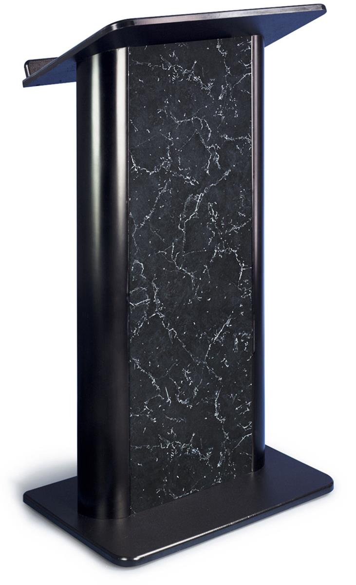 Lectern Podiums with Pyrenees Marble Panel Insert