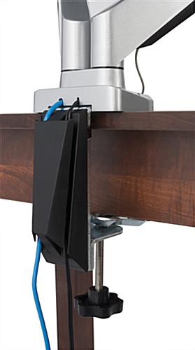 "Countertop Options And Prices Dual Monitor Arm | Fits (2) 10""-32"" Screens"
