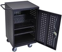 iPad Charging Cabinet | Locking Cart with (16) Outlets