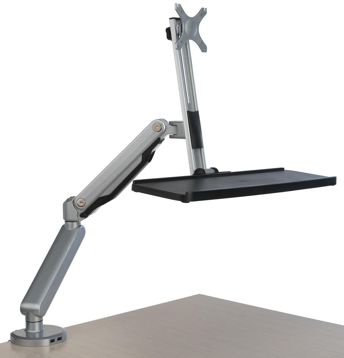 chair mount keyboard tray canada momarsh invisichair blind desk monitor arm with ports for usb