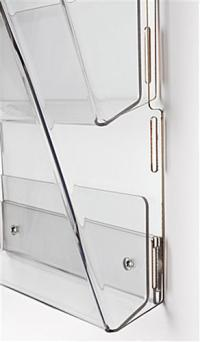 Hanging Magazine Rack - (16) Full View Pockets