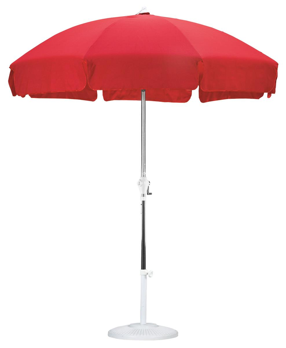 75 Red Patio Umbrella  For Outdoor Use
