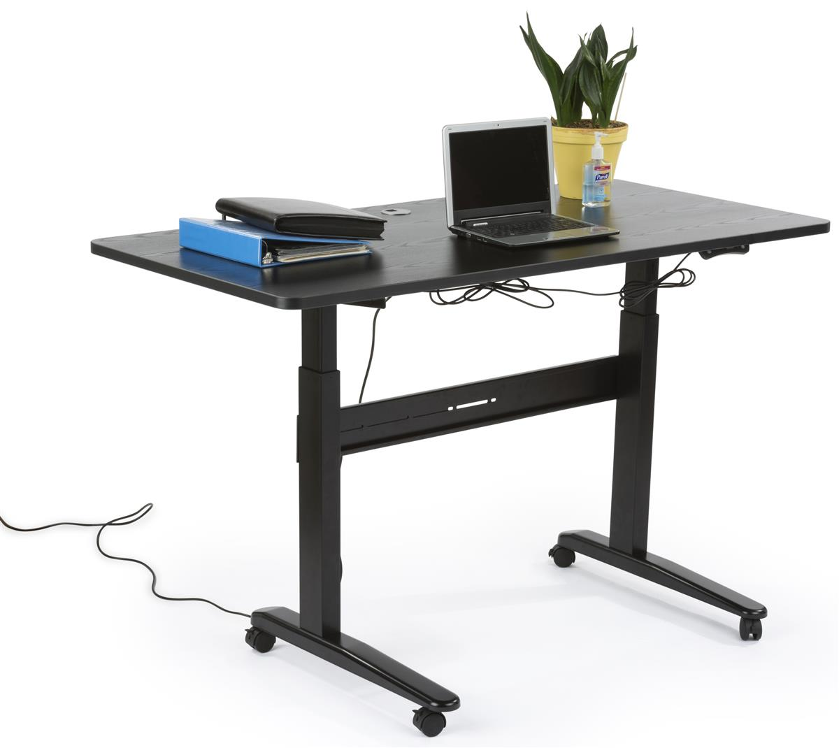 Electric Sit Stand Desk  4 Height Memory Settings