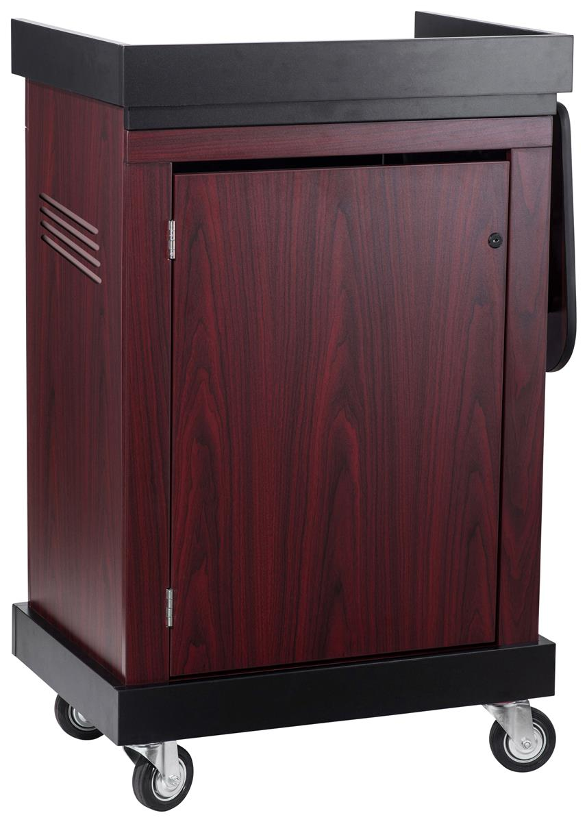 Multi Purpose Multimedia Lectern Mahogany