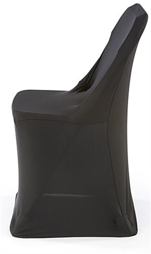 spandex folding chair covers for sale with canopy black stretch cover | seat slipcover