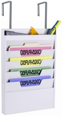 Cubicle Wall Hanging File | Top Organizer Pocket