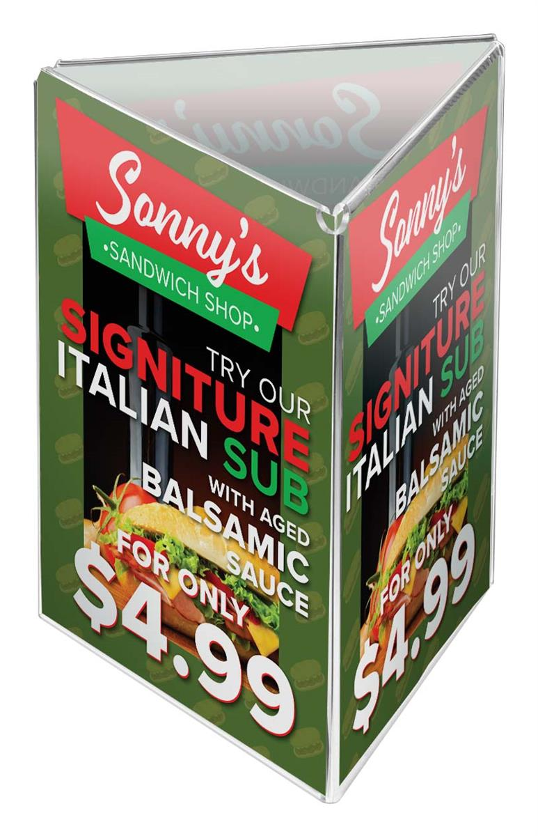 Tri Fold Large Picture Frame