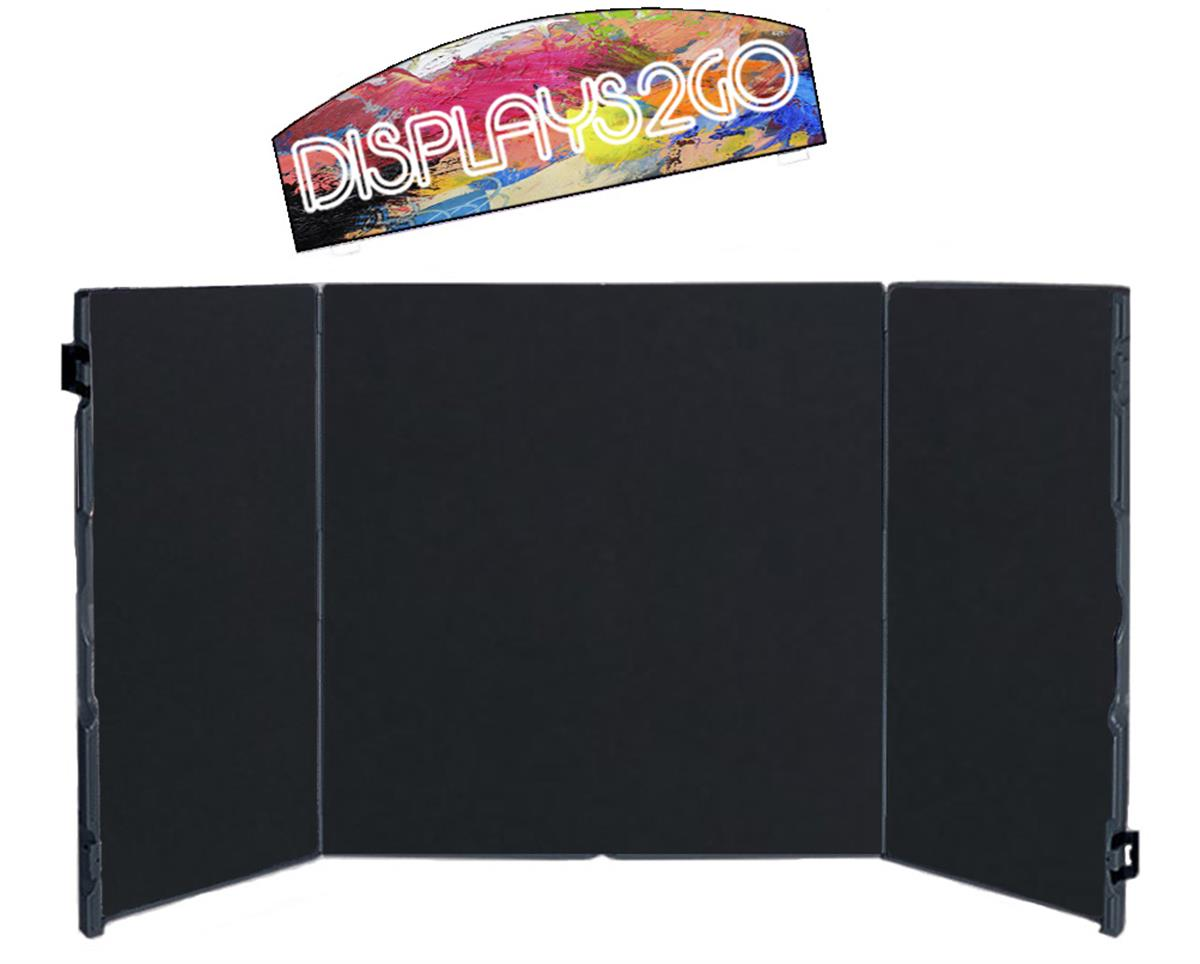 Project Display Board with Printed Header  Portable Design
