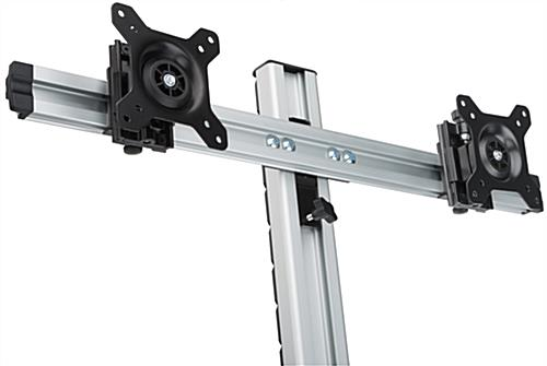 Dual LCD Monitor Wall Stand  AntiTheft Kit