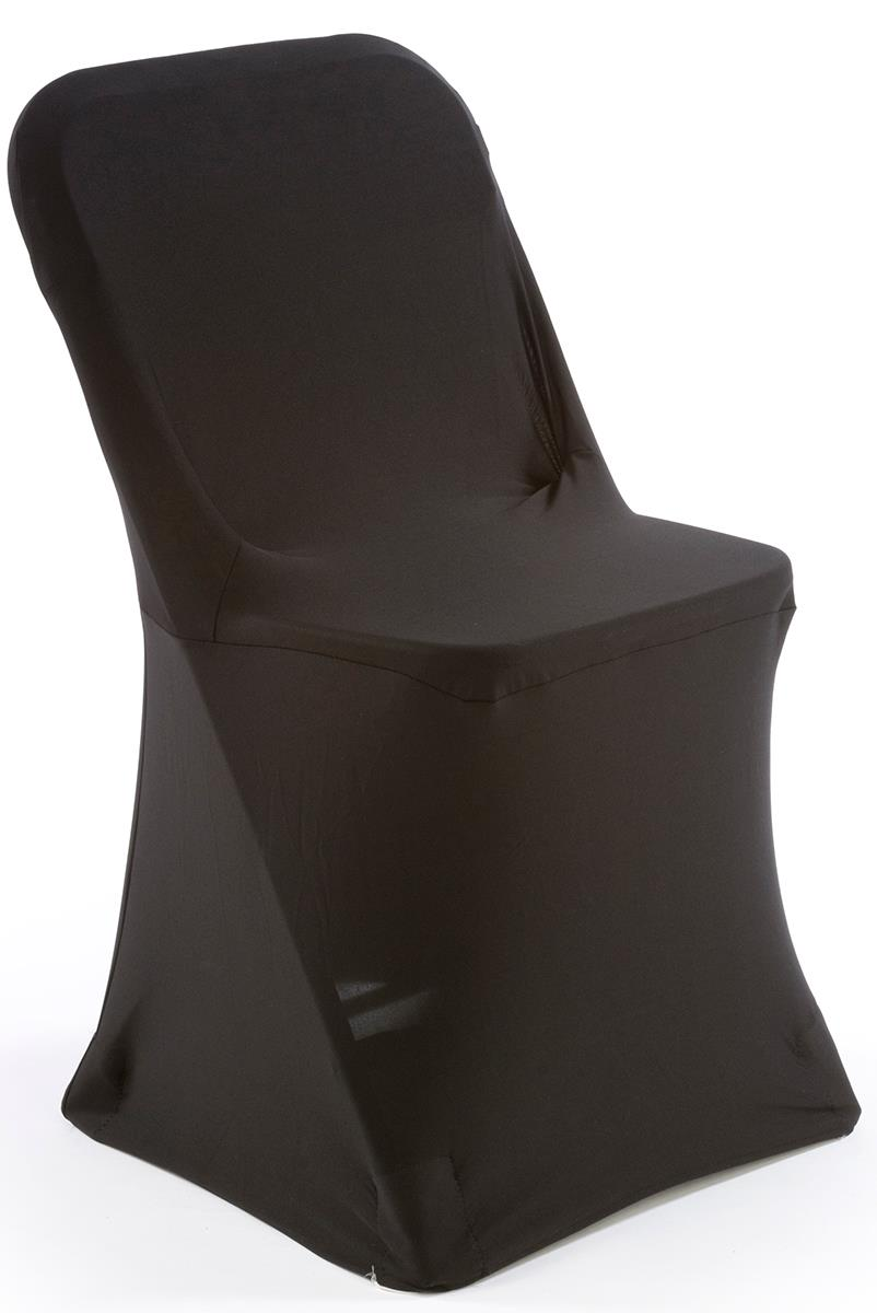 folding chair cart ergonomic lower back support white plastic with black stretch cover | machine washable