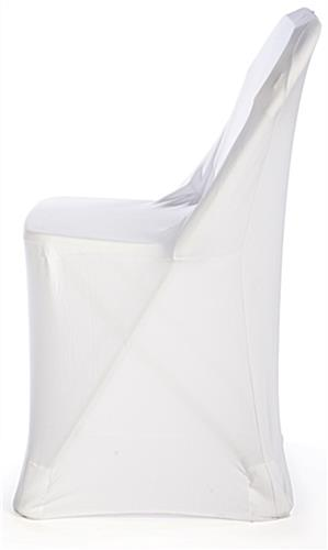 black spandex chair covers for sale commercial tables and chairs white foldable with stretch cover   fabric