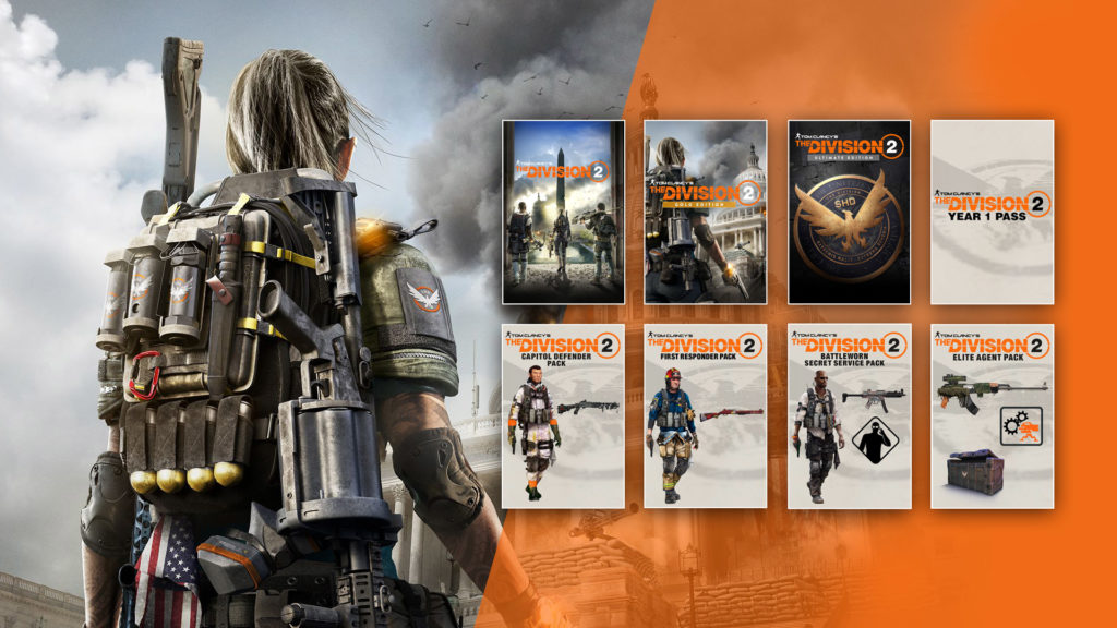 The Division 2 Standard Gold Amp Ultimate Edition VIP