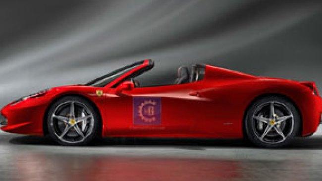 Ferrari 458 Spider Mengaspal di Indonesia