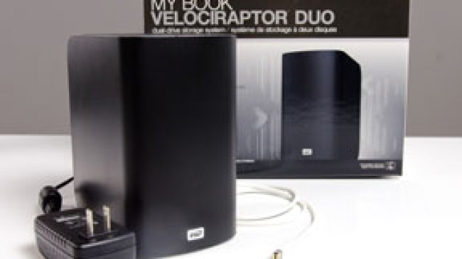 My Book VelociRaptor Duo Berteknologi Thunderbolt