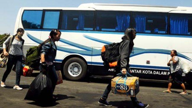 Bandung, Pemudik dengan Bus Meningkat 200 Persen